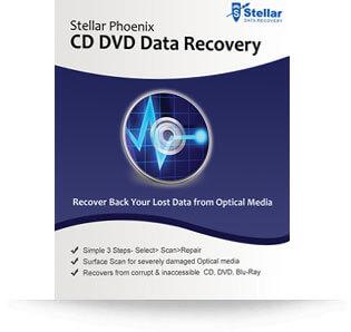 Stellar CD DVD Data Recovery