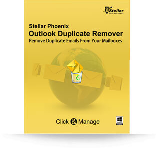 Stellar Outlook Duplicate Remover software
