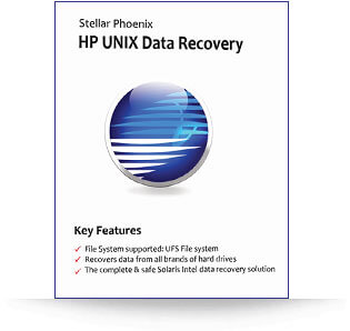 Stellar HP Unix Data Recovery software