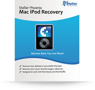 Stellar IPod Recovery (Mac) software