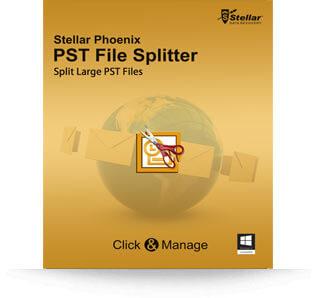 Stellar PST File Splitter