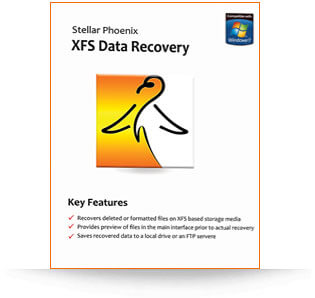 Stellar XFS Data Recovery software