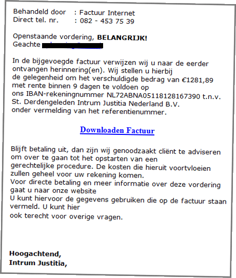 Voorbeeld Virus Ransomware