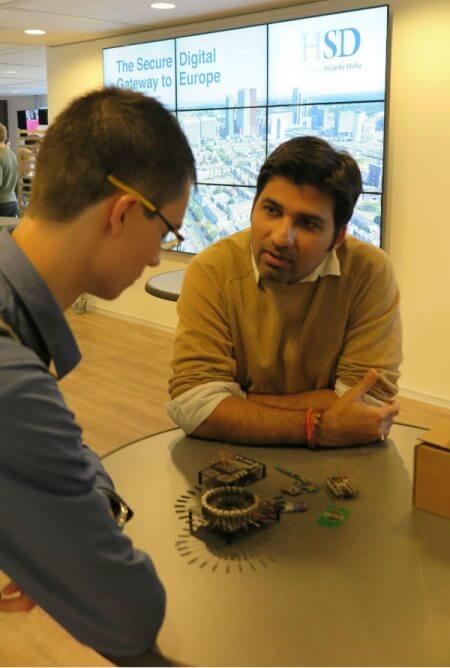 Het scouten van IoT talent voor de toekomst op de campus van HSD Den Haag