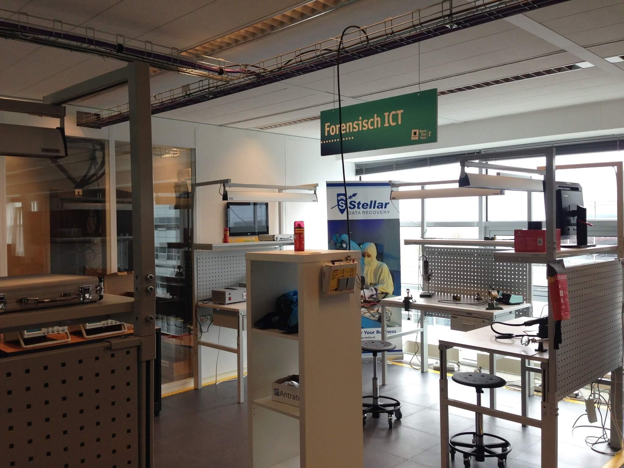 Data recovery in het IoT Lab van de Hogeschool Leiden