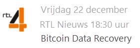 Stellar Data Recovery op RTL4 - RTL Nieuws - Bitcoin Data Recovery